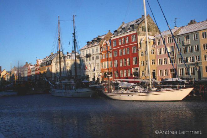 Kopenhagen Geheimtipps, Wintersonne, Nyhavn, Übersicht