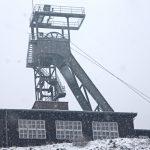 Glückauf mit Schnee im Rammelsberg