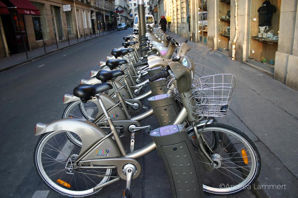 Geheimtipp Paris: Leihfahrräderer