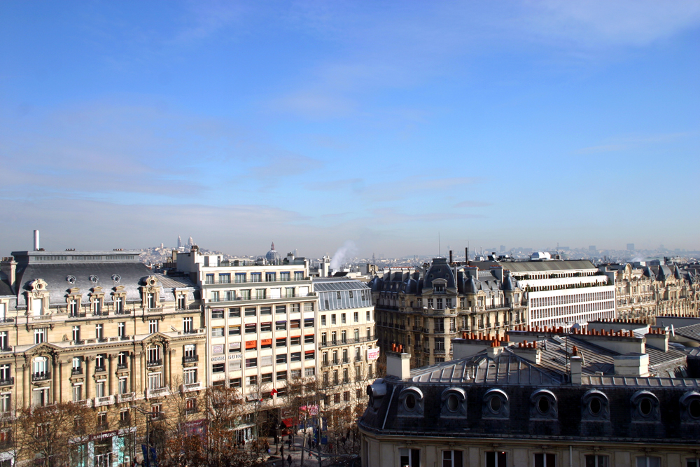 Paris Geheimtipp: Ausblick vom Espace