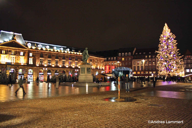 Weihnachten im Elsass, Straßburg, Weihnachtsmarkt