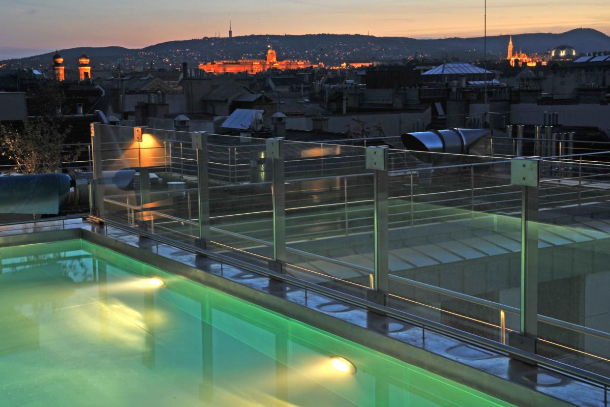 Budapest-Geheimtipps, Donau, Schwimmbad