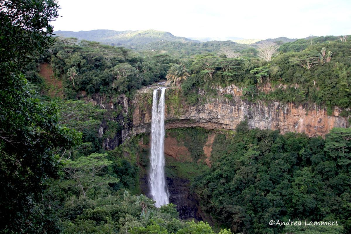 Winter auf Mauritius, Wasserfall