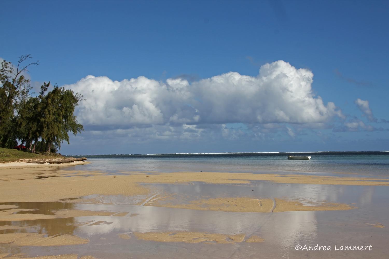 Mauritius im Winter, Strand bei Le Morne
