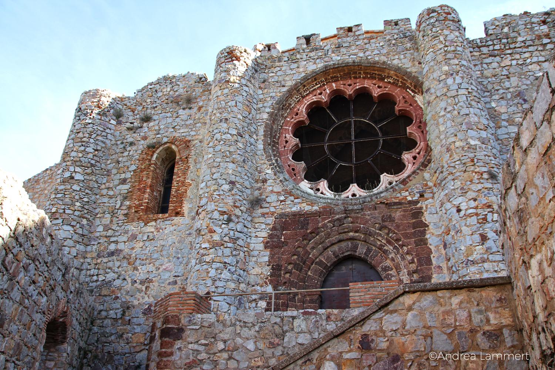 Aldea del Rey, Kastillien La Mancha, Calatrava la Nueva, Fensterrosette