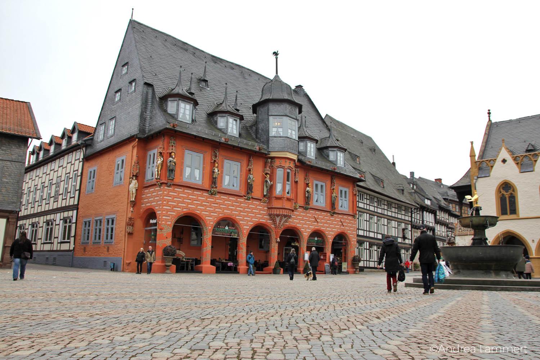 Goslar, Ein Tag in Goslar, Fachwerk, Marktplatz, Kaiserworth