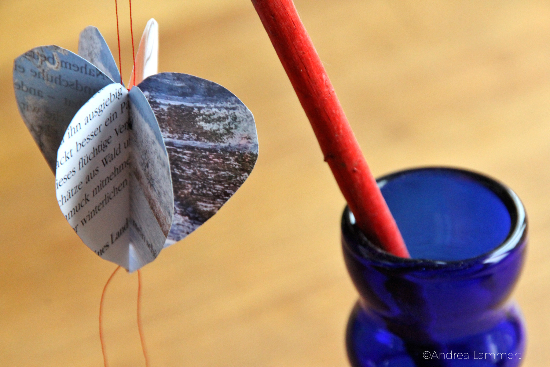 Valentinstag, Herzen, DIY, Upcycling, Herzen aus Buchseiten