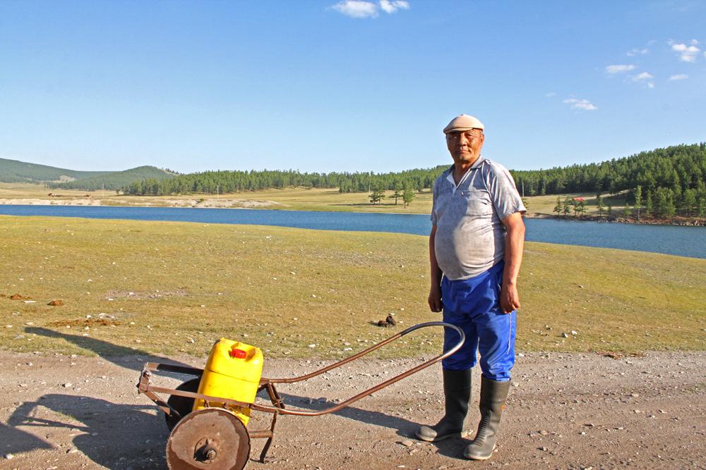 Mongolei, Nomaden, Lake Hovsgol, Möron