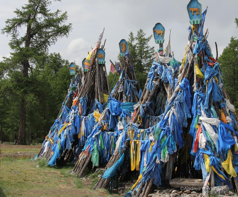 Schamanen in der Mongolei, Tal der Schamanen, Lake Hovsgol, Schamane, Oovo, Ulan Uul