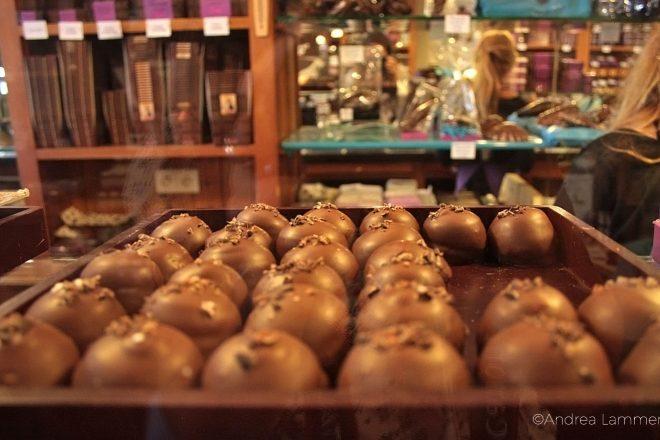 Brügge, Schokolade zum Schnupfen, The Chocolate Line
