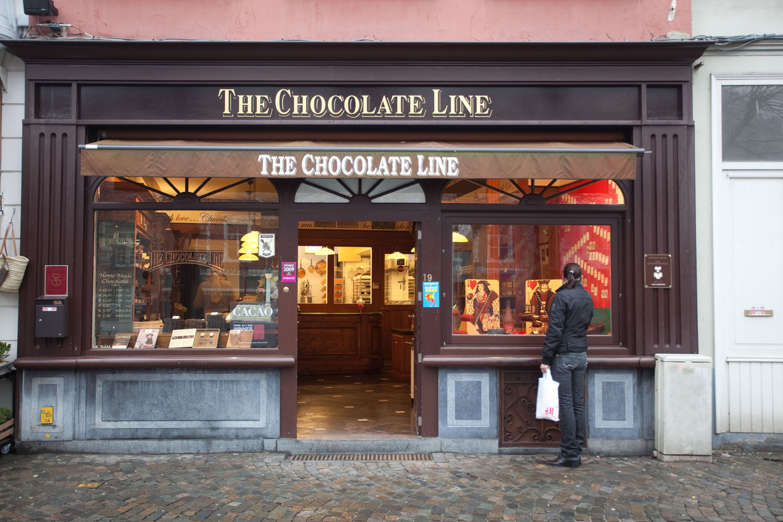 Brügge, Schokolade zum Koksen, The Chocolate Line