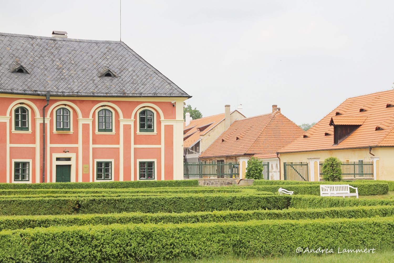 Elberadweg Tschechien, Veltrusy, Schloss