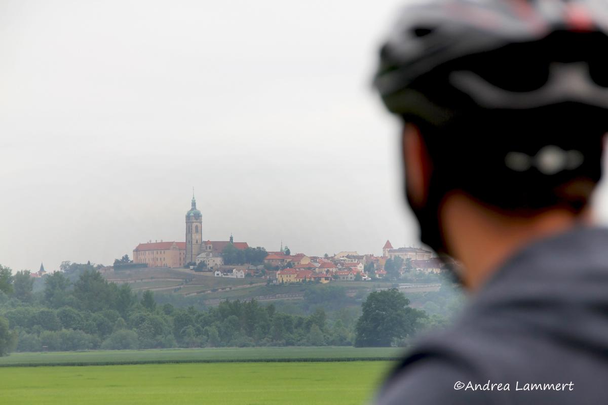 Elberadweg, Tschechien, Melnik,