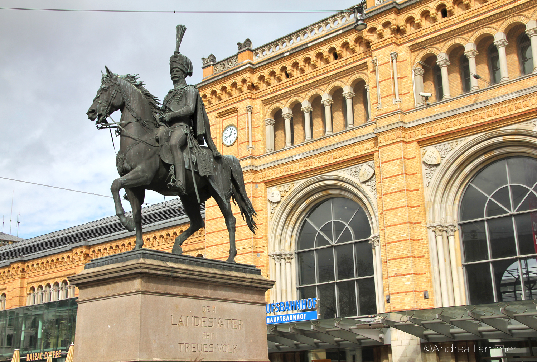 Hannover, Hauptbahnhof, Ernst-August-Platz