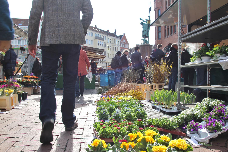 Hannover-Linden, Lindener Markt, Wochenmarkt