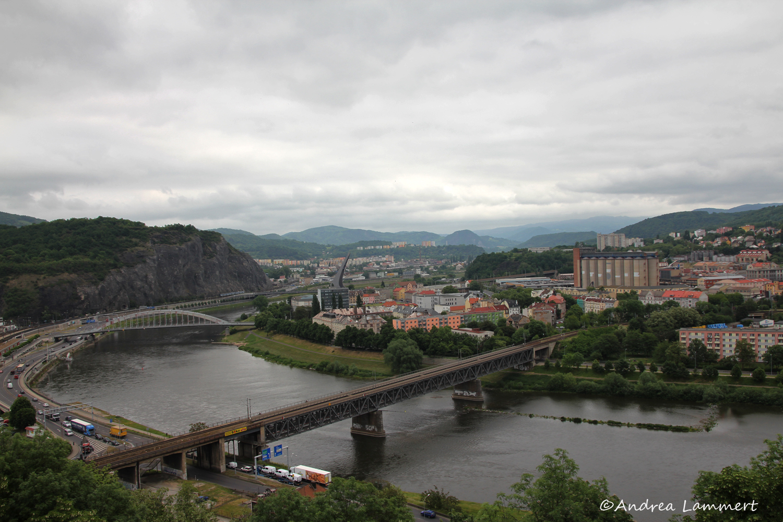 Elberadweg, Tschechien, Leitmeritz, Litomerice, Schönau, Usti nad Labem