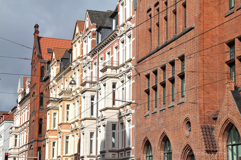 Hannover-Linden, Lindener Markt, Fassaden, Egestorfer Straße