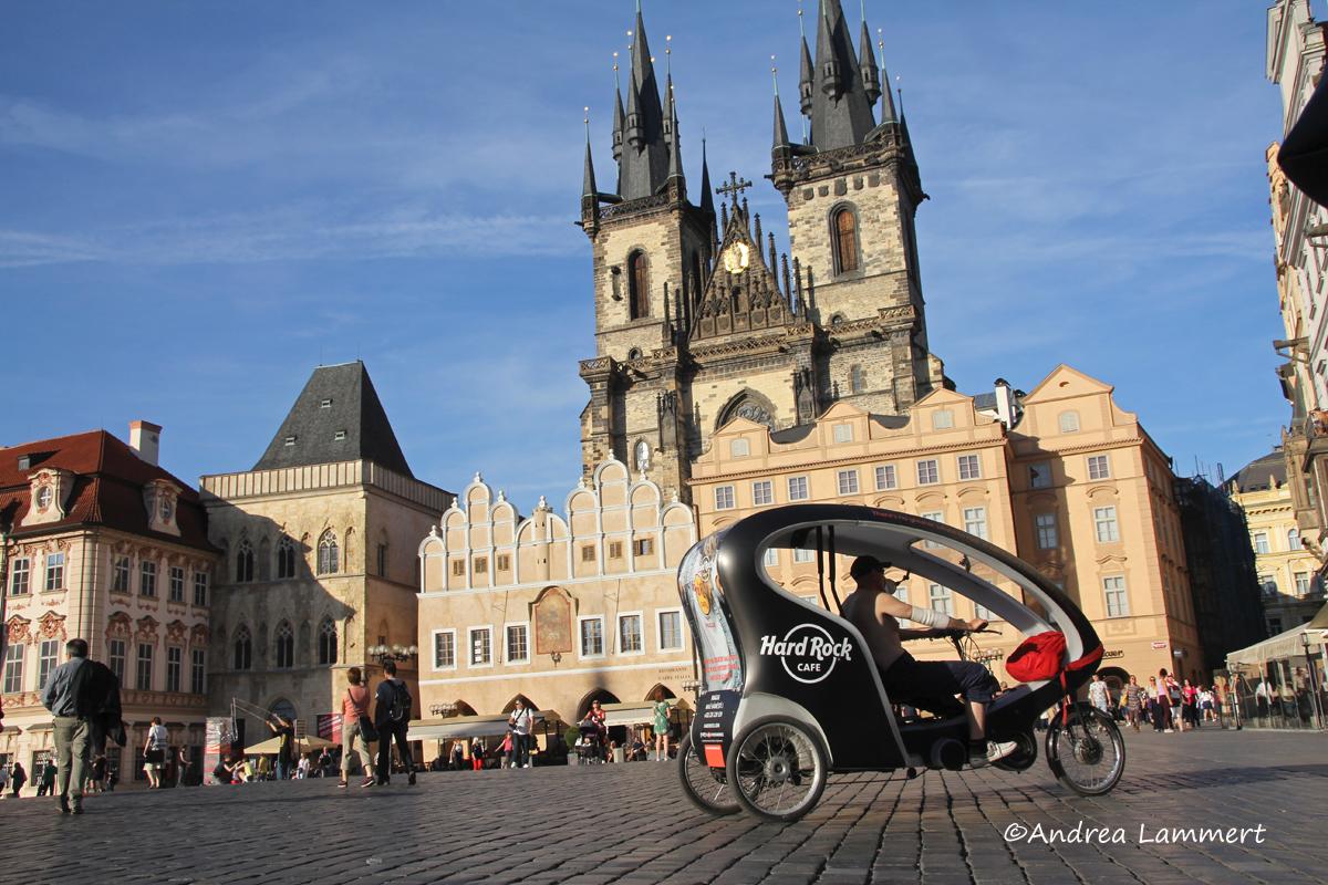 Elberadweg Tschechien, Prag, Karlsplatz