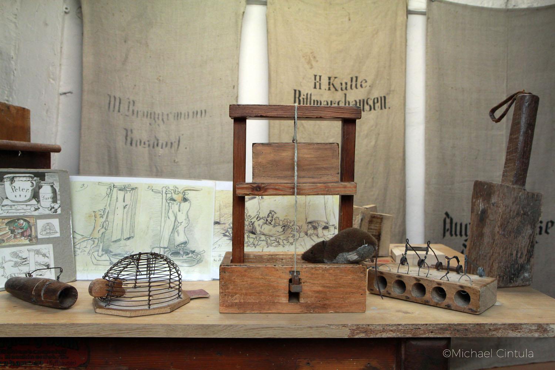 Wilhlem-Busch-Mühle, Ebergötzen, Harz, Museum