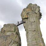 Externsteine: Bekanntester Kraftplatz in Deutschland