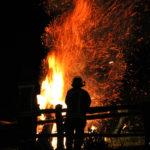 Feuerräderlauf in Lügde - ein uralter Brauch
