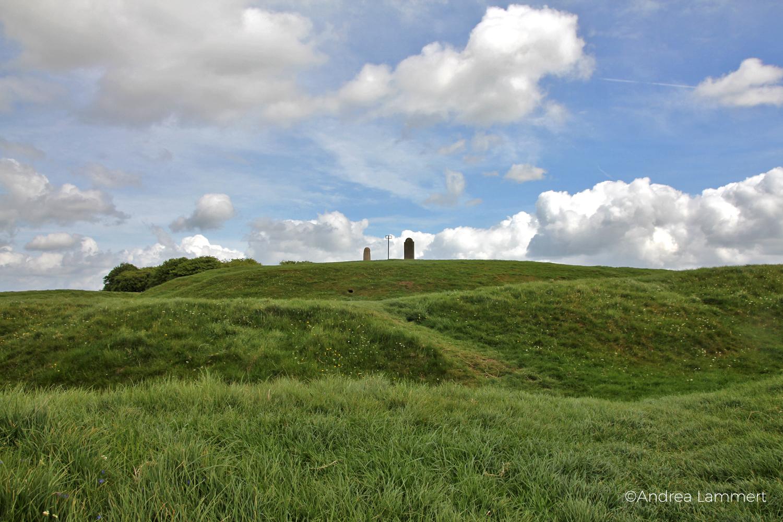 Irland, Kraftplatz Hill of Tara, Kraftplatz, Meath, Hügel der Geiseln