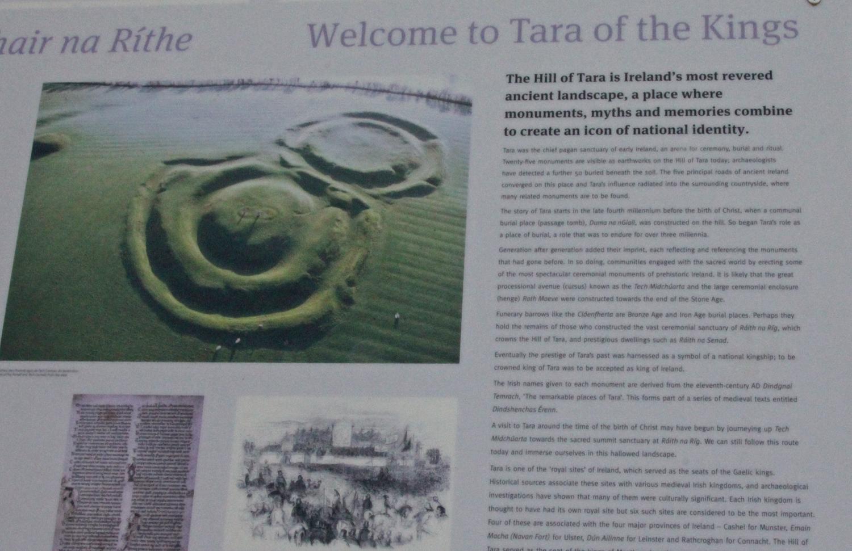 Irland, Kraftplatz Hills of Tara, Kraftplatz, Meath, Friedhof am Rande des Hills of Tara
