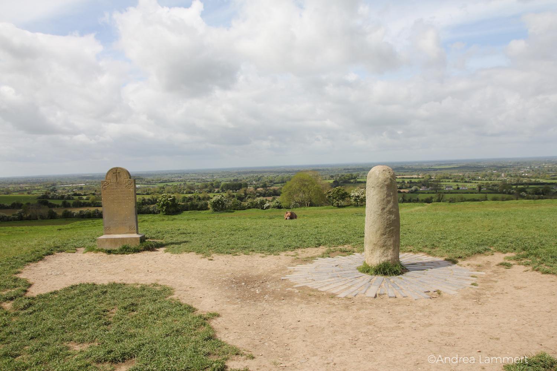 Irland, Kraftplatz Hills of Tara, Kraftplatz, Meath, Hügel der Geiseln