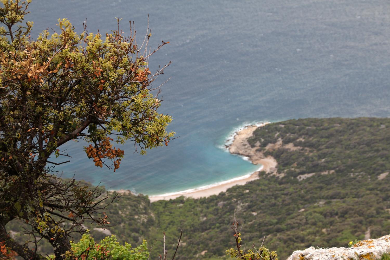 Lubenice, Kvarner Bucht, Kroatien, Cres, Strand Sveti Ivan