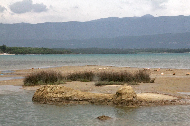 Soline Krk, Kvarner Bucht, Kroatien, Inselhüpfen Heilschlamm