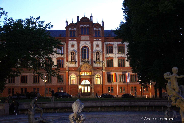 Hansestadt, Abends