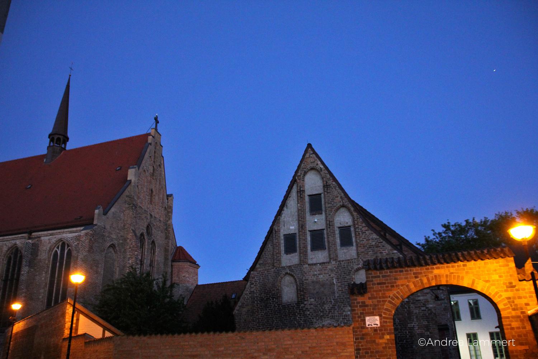 Rostock, Hansestadt, Abends