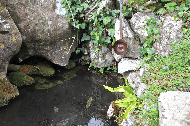 St. Ciaran's Well, Kells, Irland, Castlekeeran, Feenbaum