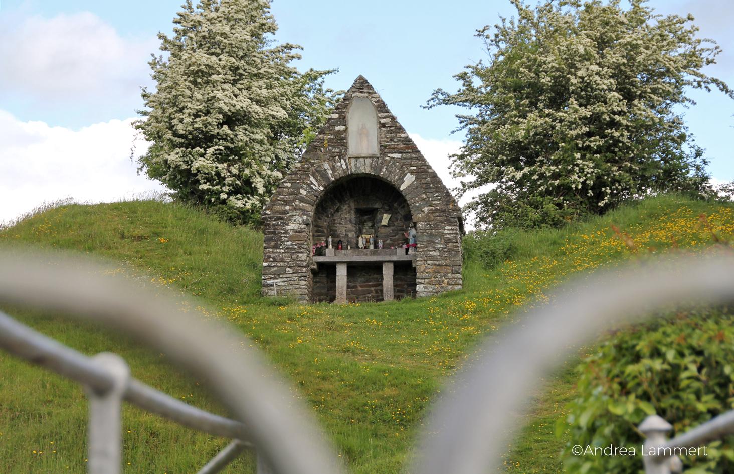 St. Ciaran's Well, Kells, Irland, Castlekeeran, Kapelle