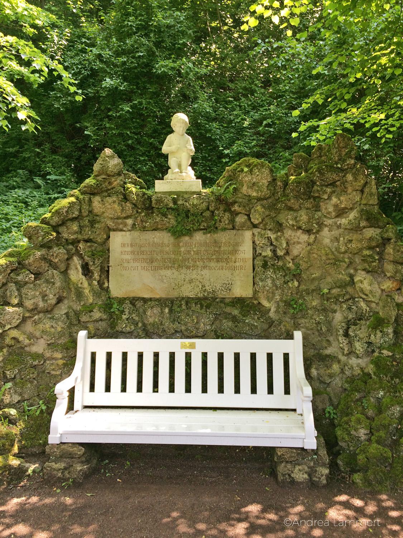 Weimar, Schloss Tierfurt, Park