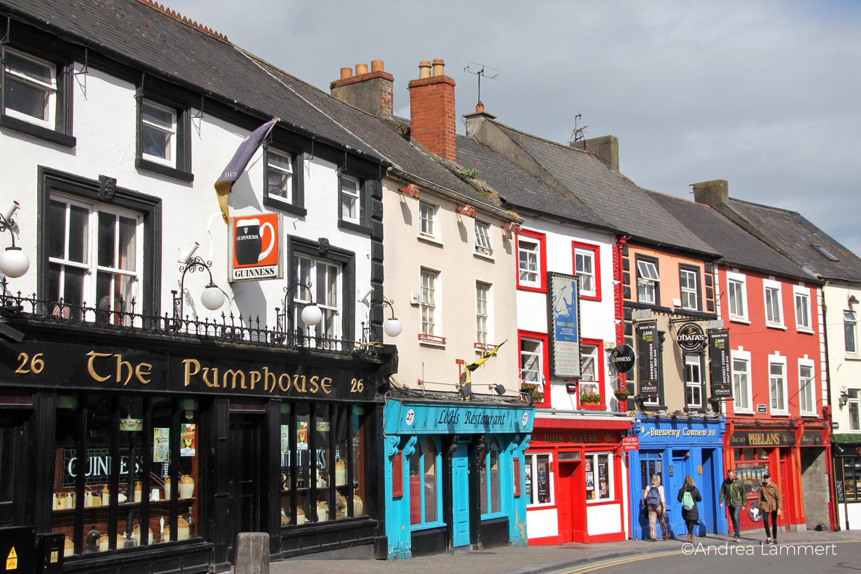 Kilkenny, Sehenswürdigkeiten, Geheimtipps, Straßenansicht