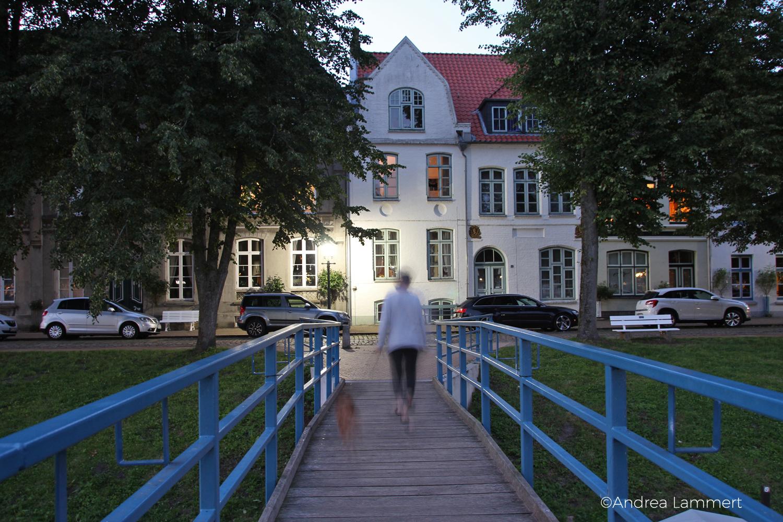 Friedrichstadt, Nordsee, Grachtenstadt, Panorama