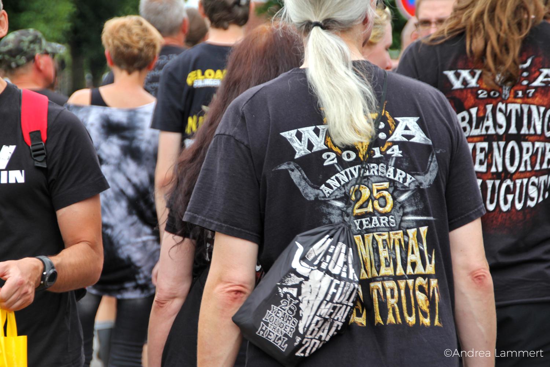 Wacken, Heavy Metal Festival 2017, Aufbau