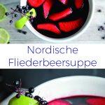 Fliederbeersuppe, Rezept, Holunderbeeren