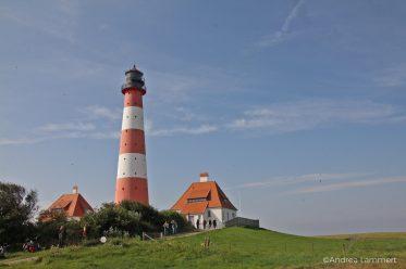 Leuchtturm Westerhever Wanderung, Nordseeküste
