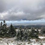 Erster Schnee: Wanderung zum Brocken