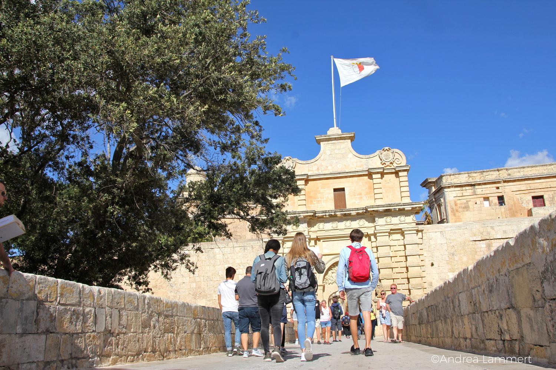 Malta, Ausflug ins Hinterland, Mgarr, Bauernhof., Mdina, Rabat, Weingut