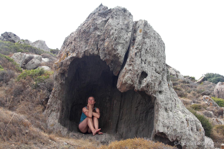 Milos, Kraftplatz, Kykladen, Griechenland