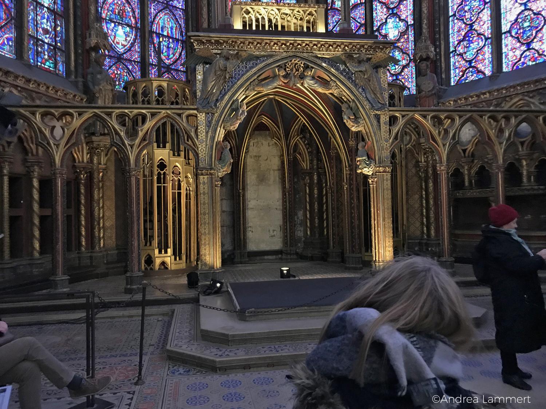 Paris mit Kindern, Sainte Chapelle