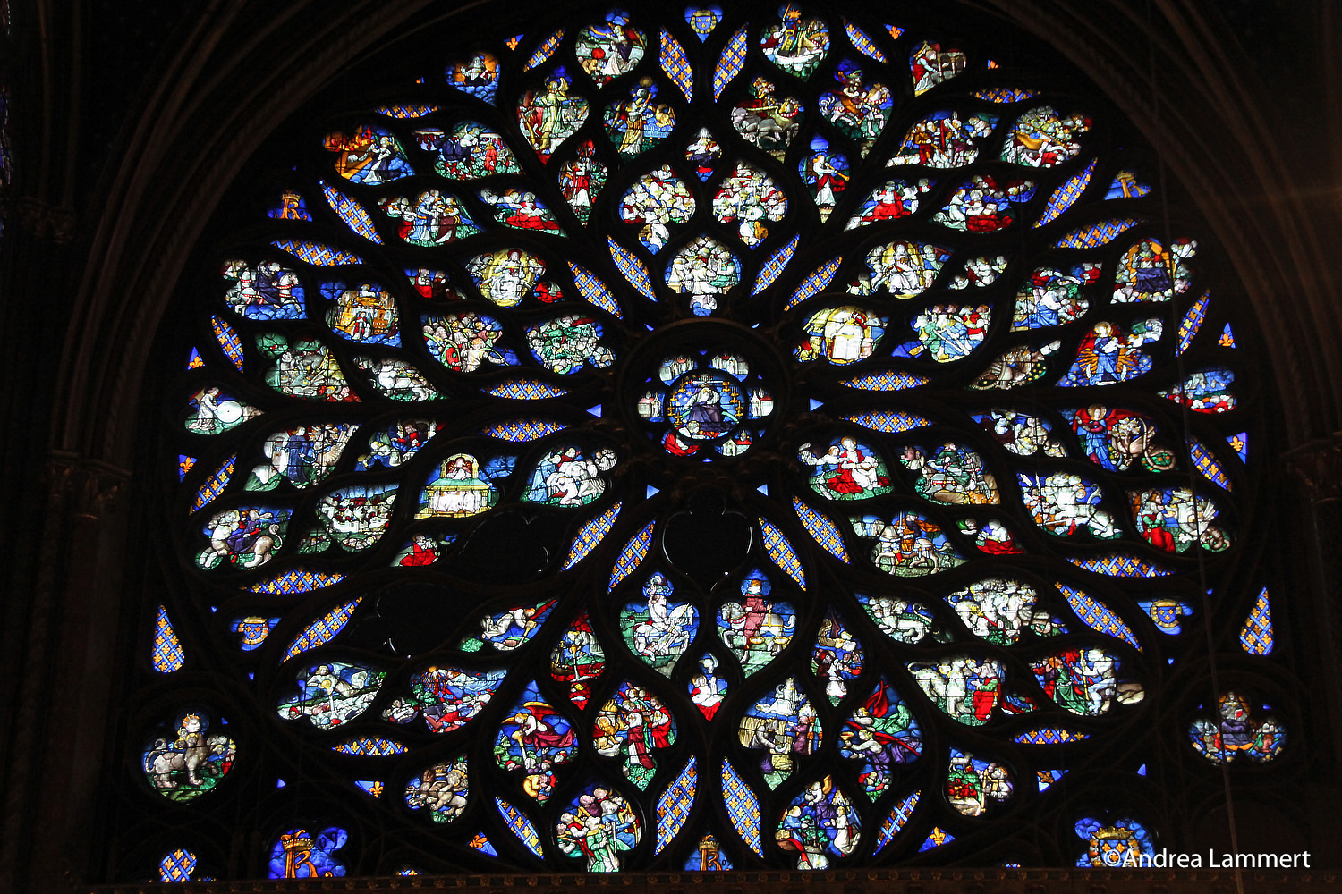 Paris, Sainte Chapelle, Kraftort