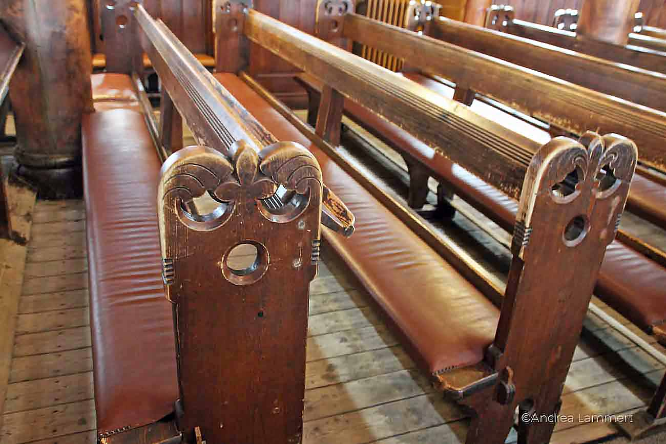 Stabkirche in Hahnenklee im Harz