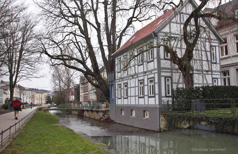 Detmold im Teutoburger Wald, Tipps für Detmold, hier Wallgraben