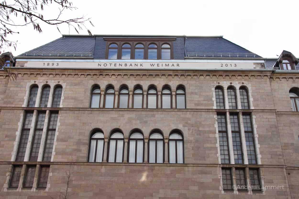Weinar, Hotel, Notenbank, Ferienwohnung in Weimar