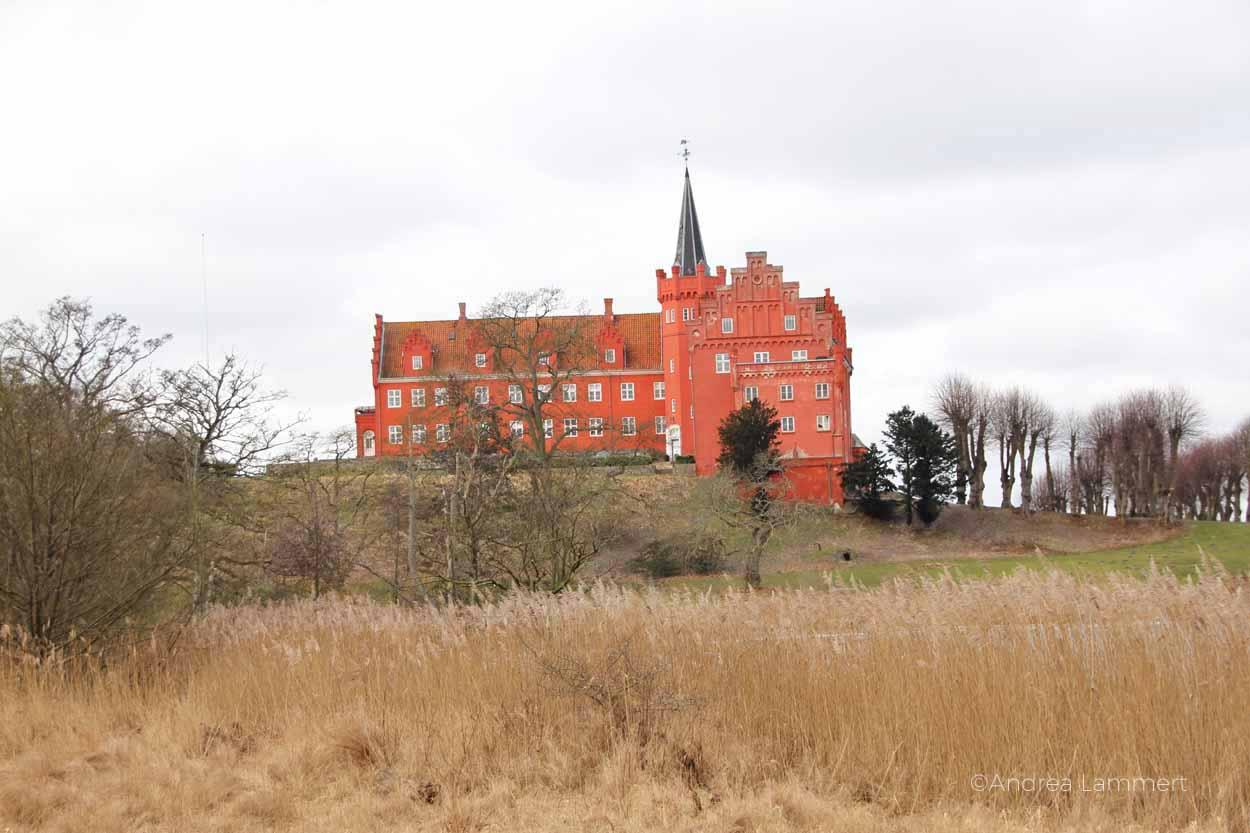 Langeland, Dänemark, Schlossbesichtigung, Tranekaer