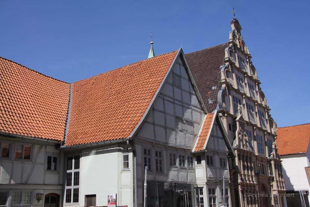 Lemgo, Sehenswürdigkeiten, Hexenbürgermeisterhaus und Innenstadt